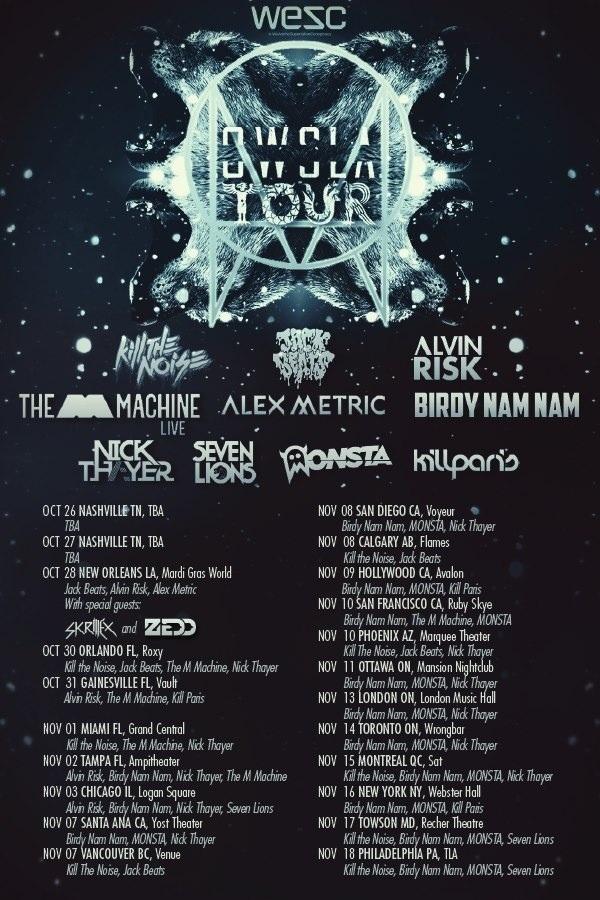 OWSLA Tour