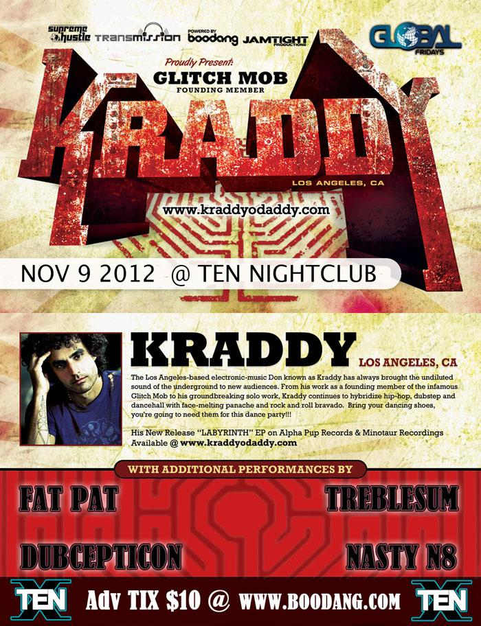 Kraddy Ten nightclub