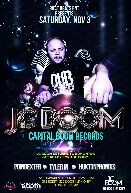 JC Boom Sou Kawaii Zen Lounge Edmonton