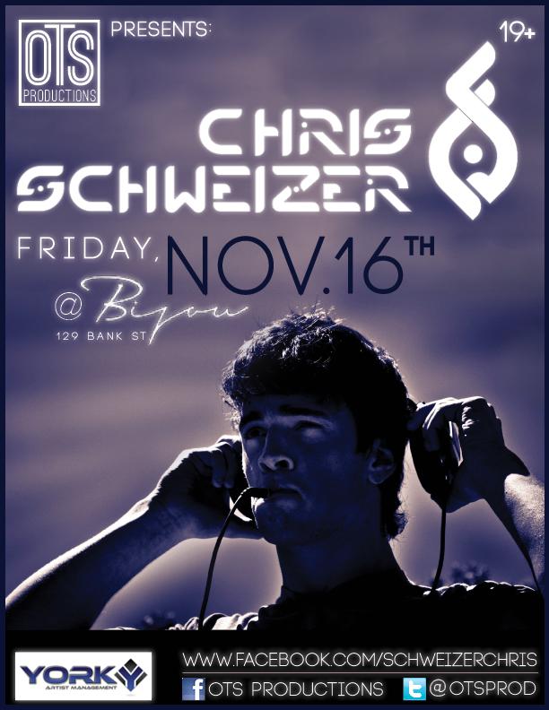 Chris Schweizer Bijou Ottawa