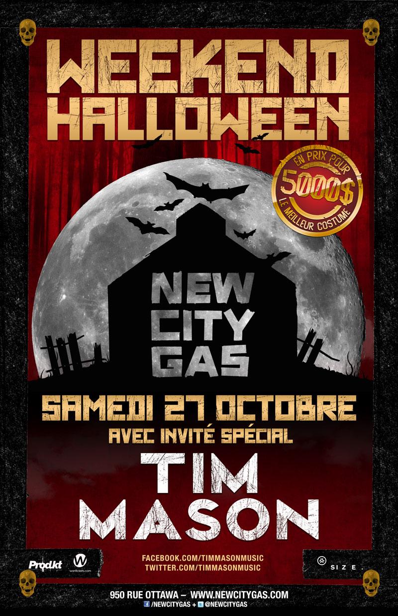 Tim Mason New City Gas Montreal