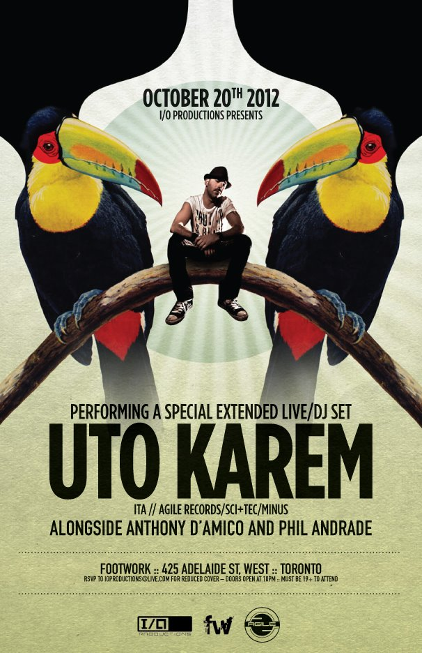 Uto Karem Footwork Nightclub