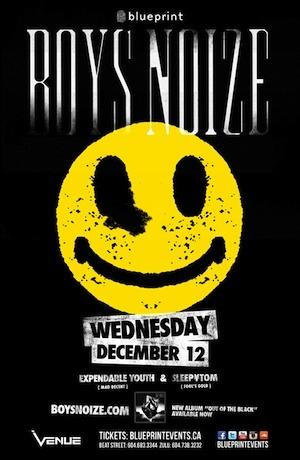 Boyz Noize Venue Vancouver