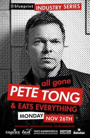 Pete Tong Vancouver