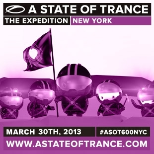 ASOT 600 New York City