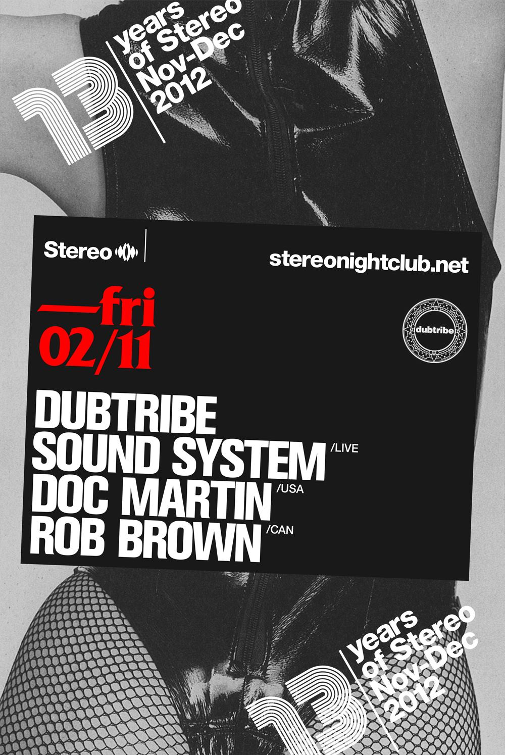 Dubtribe Montreal Stereo