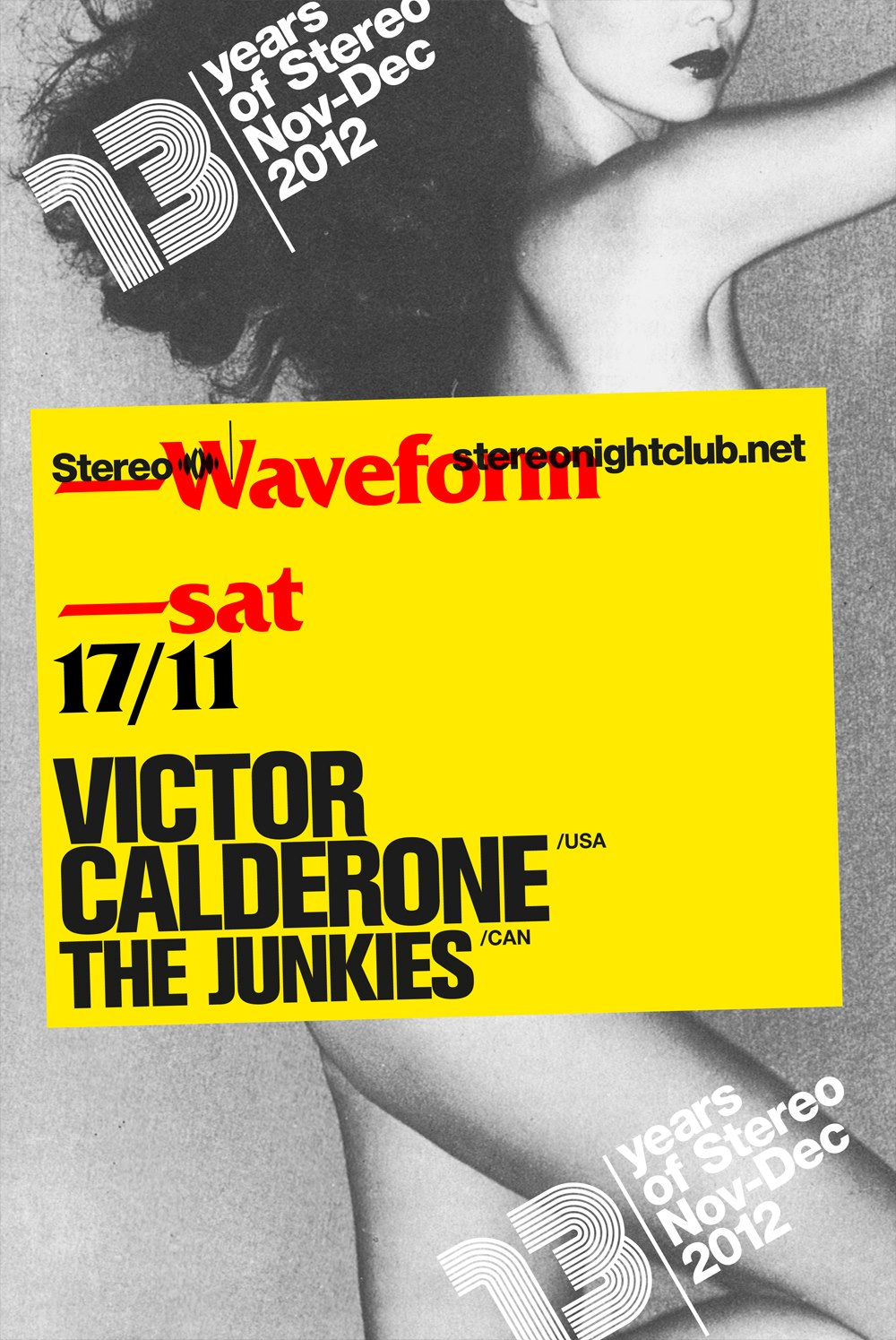 Victor Calderone The Junkies Stereo Montreal