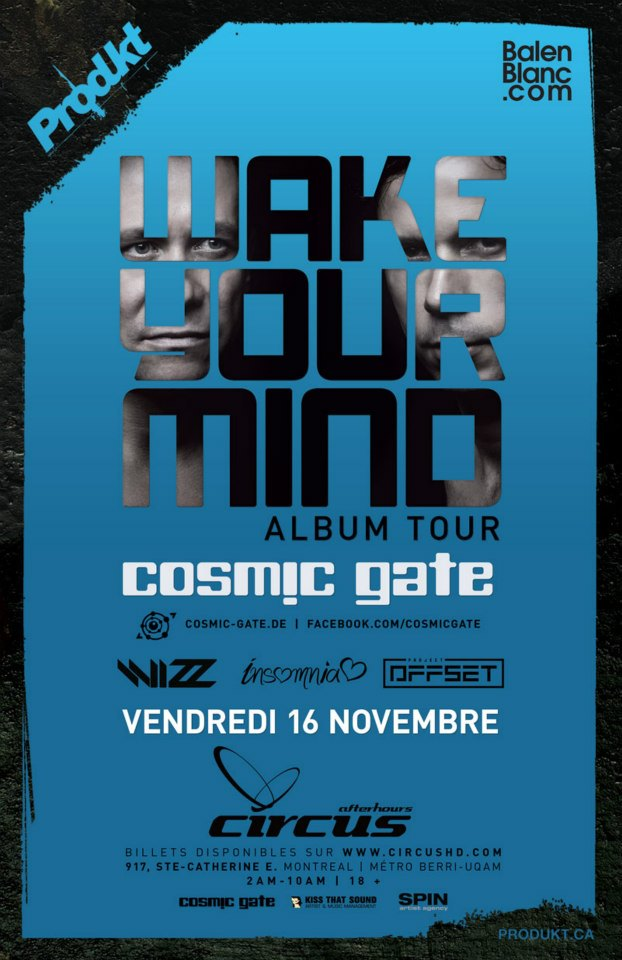 Cosmic Gate Montreal
