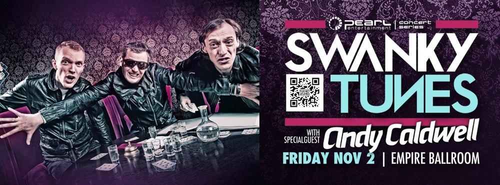 Swanky Tunes Andy Caldwell Empire Ballroom Edmonton