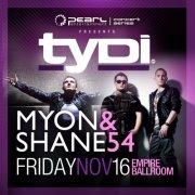 Tydi Myon & Shane 54 Empire ballroom Edmonton