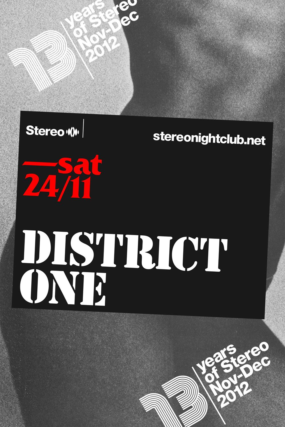 District One Stereo Montreal