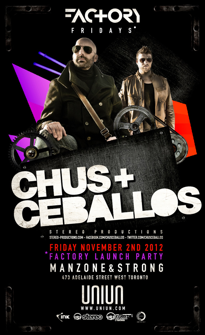 Chus and ceballos uniun toronto
