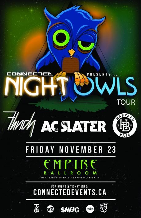 AC slater night owls flinch havard bass empire ballroom