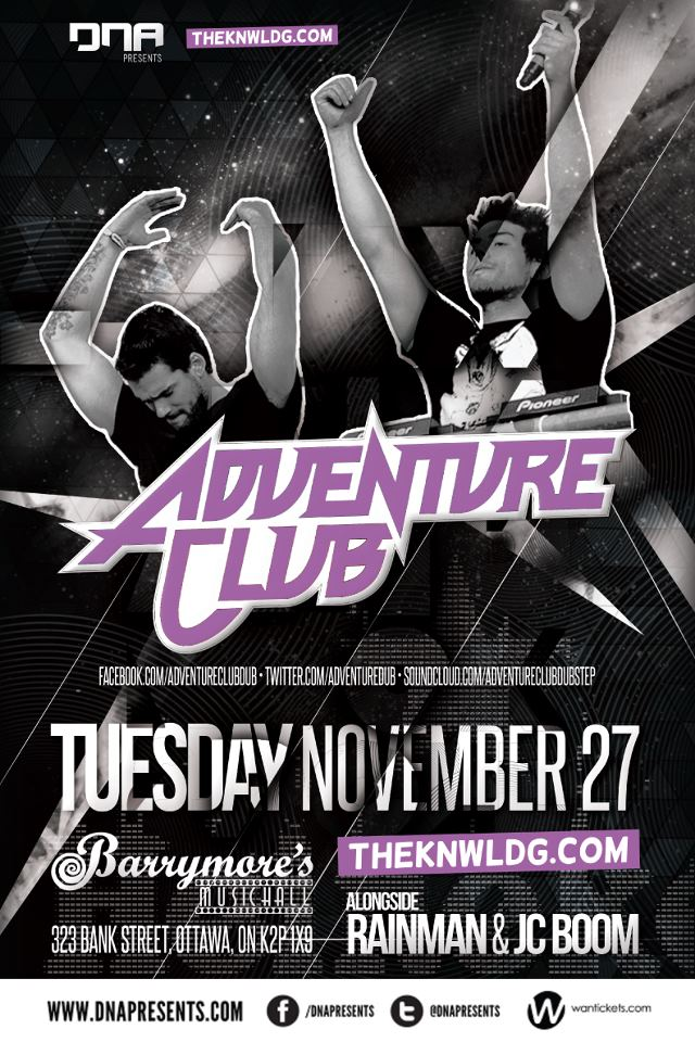 adventure club barrymore's