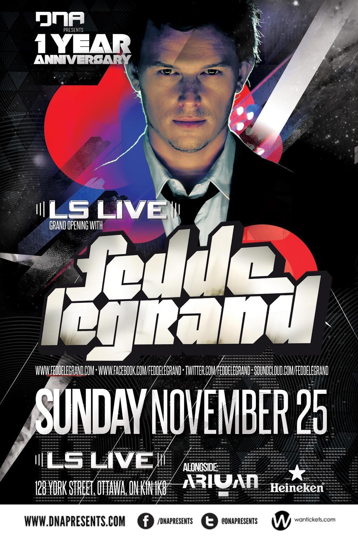 Fedde Le Grand LS Live