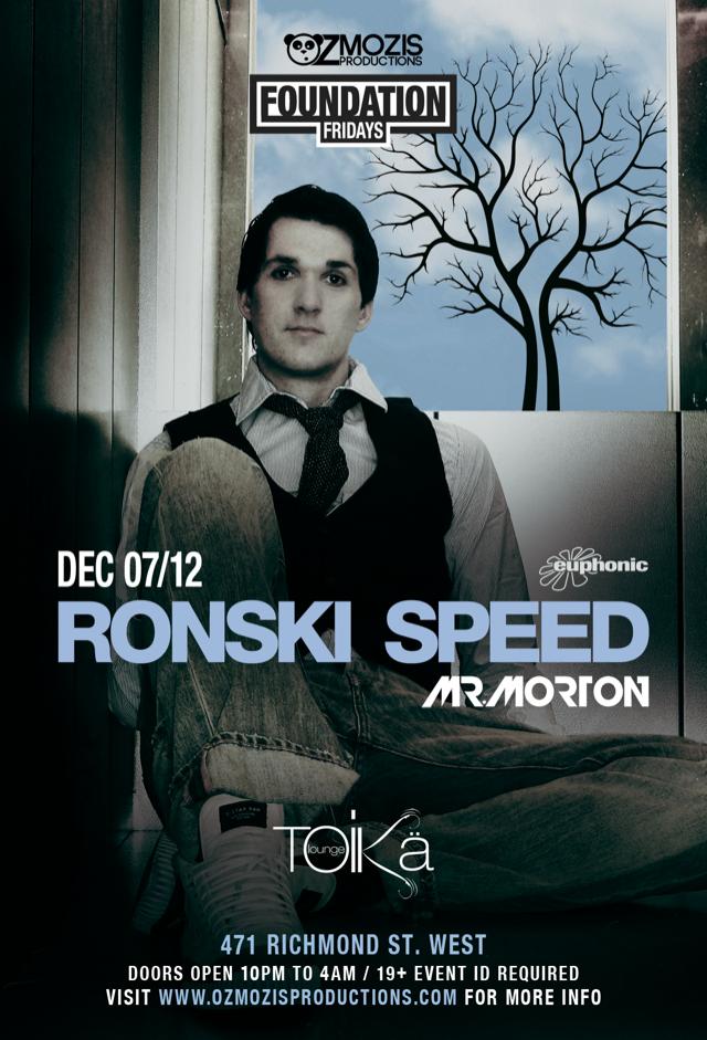 Ronski Speed Toika Toronto