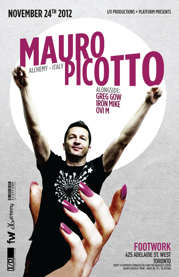 mauro picotto footwork nightclub