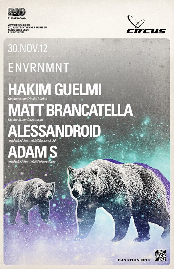 Hakim Guelmi, Matt Brancatella, Alessandroid, Adam S circus afterhours
