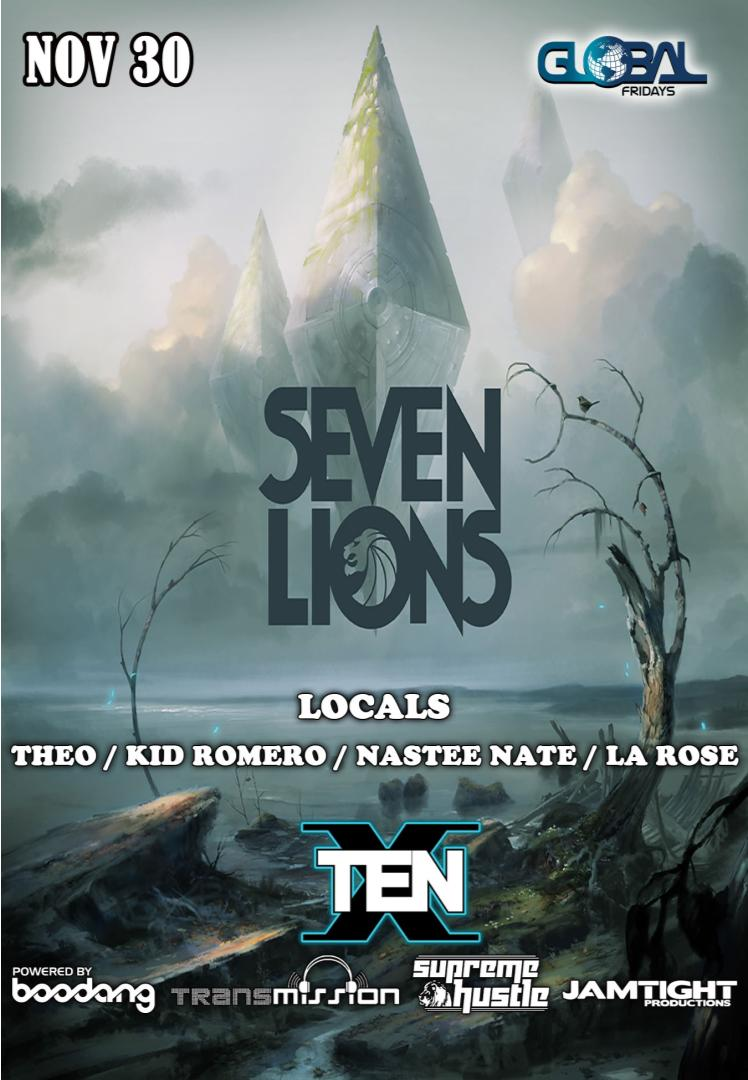 seven lions ten nightclub
