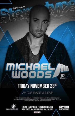 michael woods celebrities vancouver
