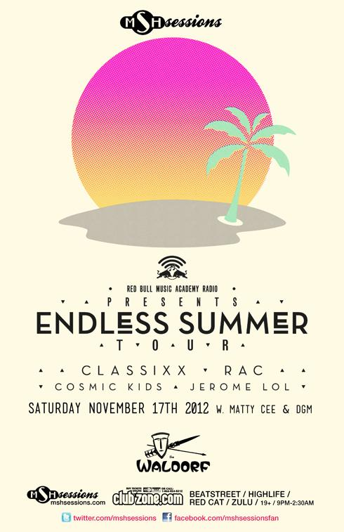Classixx, RAC, JeromeLOL, Cosmic Kids, Matty C & DGM waldorf hotel