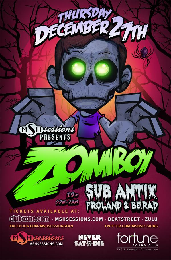 zomboy vancouver fortune sound club