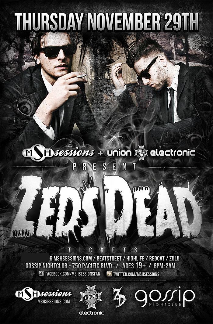 Zeds Dead, Froland + guests gossip vancouver