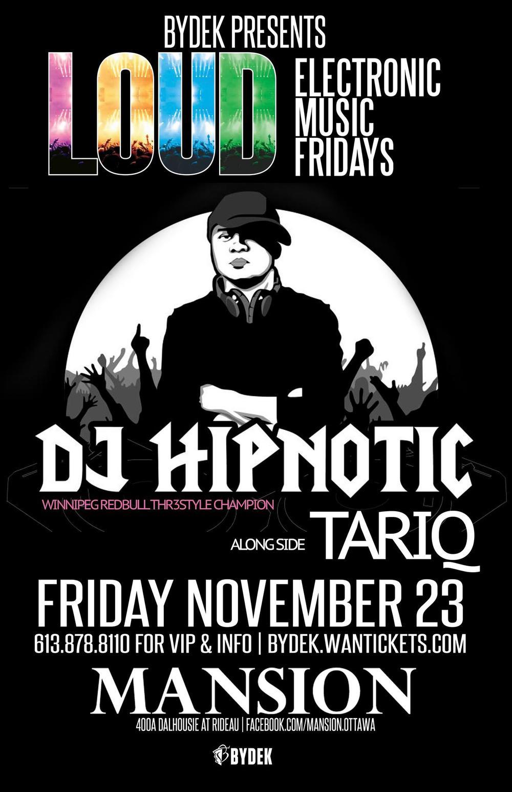 DJ Hypnotic, Tariq mansion