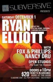 Ryan Elliott, Fox & Phillips, Nancy Dru open studios vancouver