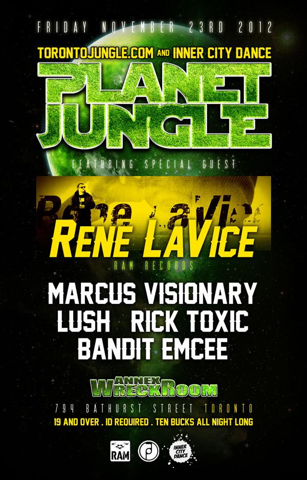 Rene LaVice, Marcus Visionary, Lush, Rick Toxic, Bandit Emcee toronto