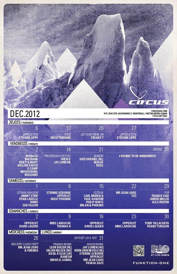 Carl Muren & Paul Random, Philip White, Milan & Phoenix circus montreal