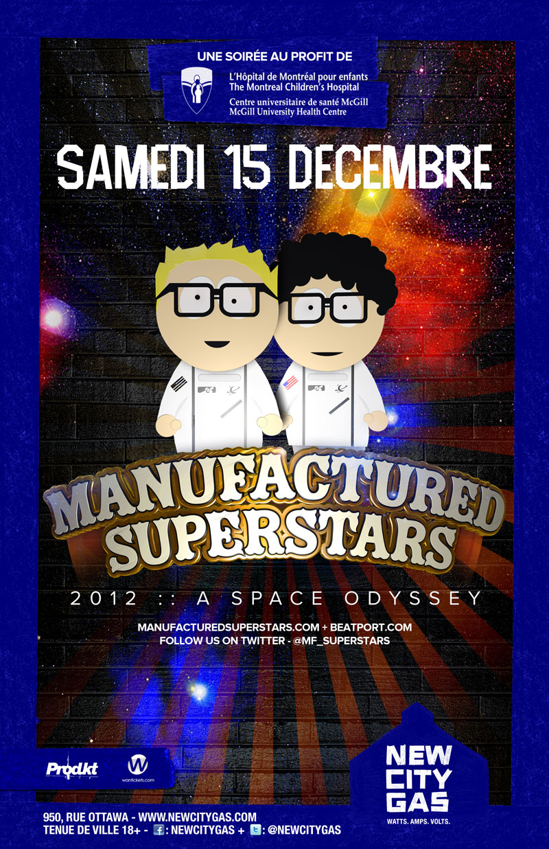 Manufactured Superstars new city gas montreal