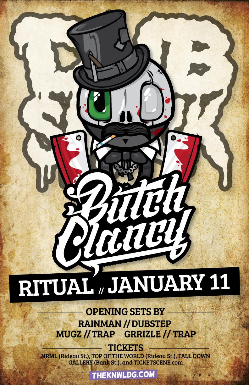 Butch Clancy, Rainman, Mugz, Grizzle dubsmack ottawa ritual
