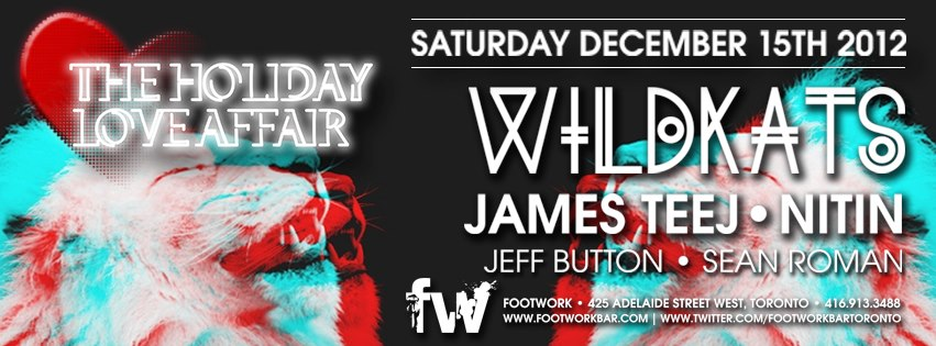 Wildkats, James Teej, Nitin, Jeff Button, Sean Roman footwork toronto
