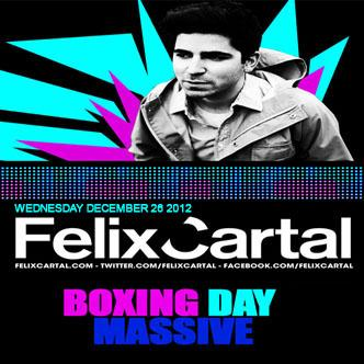 Felix Cartal ten nightclub calgary