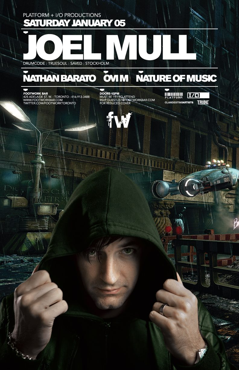Joel Mull, Nathan Barato, Ovi M, Nature of Music footwork toronto
