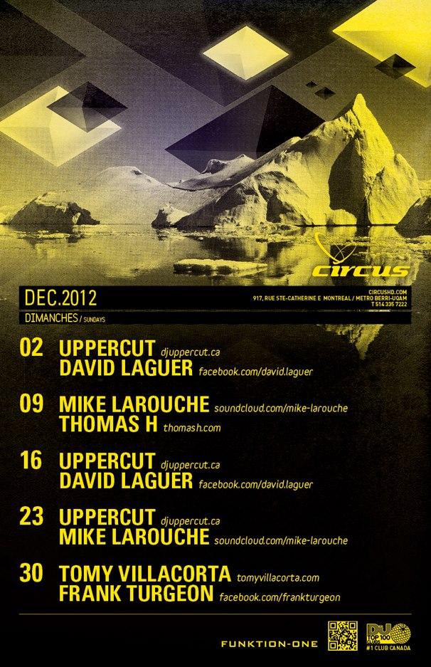 Uppercut, Mike Larouche circus montreal