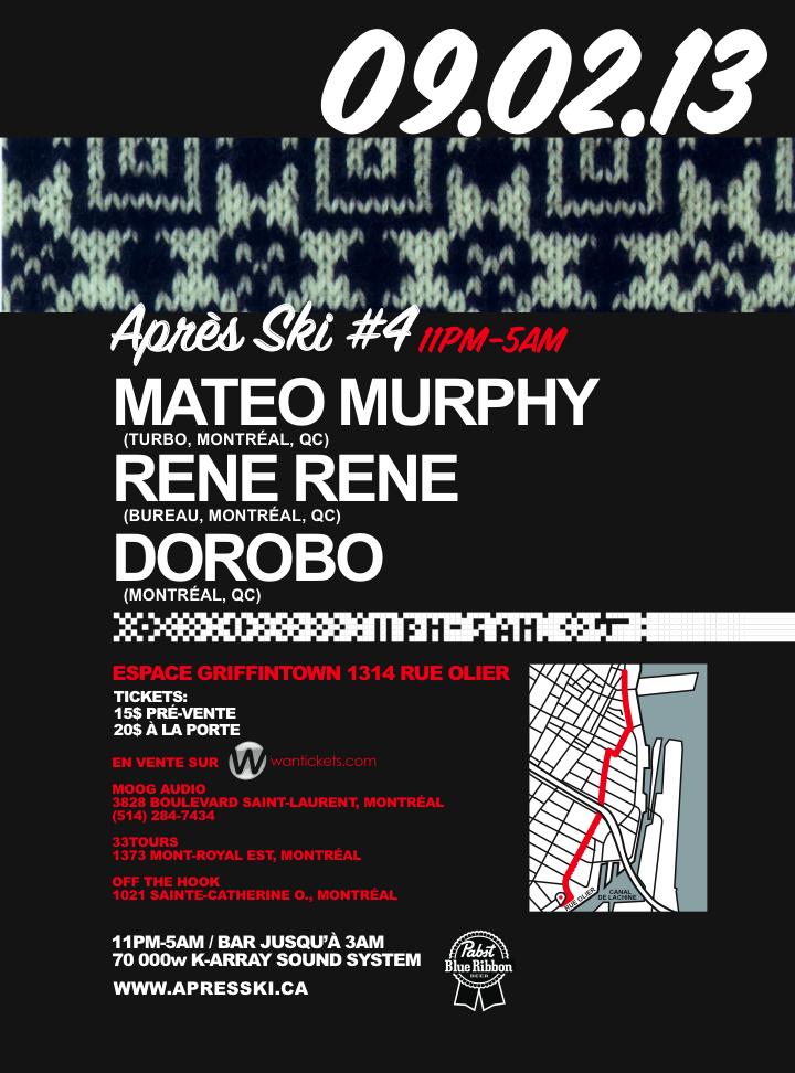 Mateo Murphy, Rene Rene, Dorobo montreal