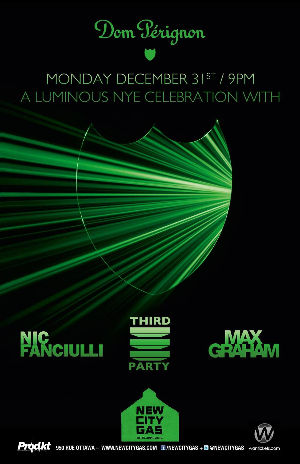 Nic Fanciulli, Third Party, Max Graham new city gas montreal