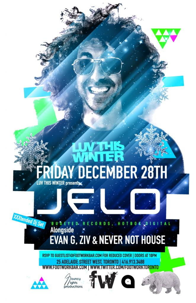 Jelo, Evan G, Ziv, Never Not House footwork toronto