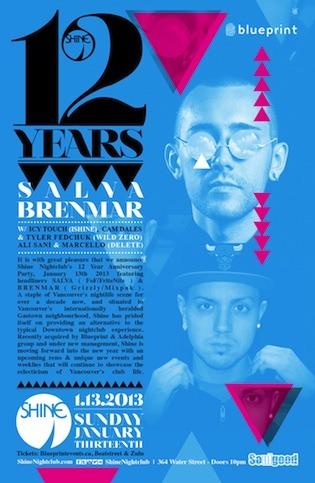 Salva, Brenmar shine nightclub vancouver
