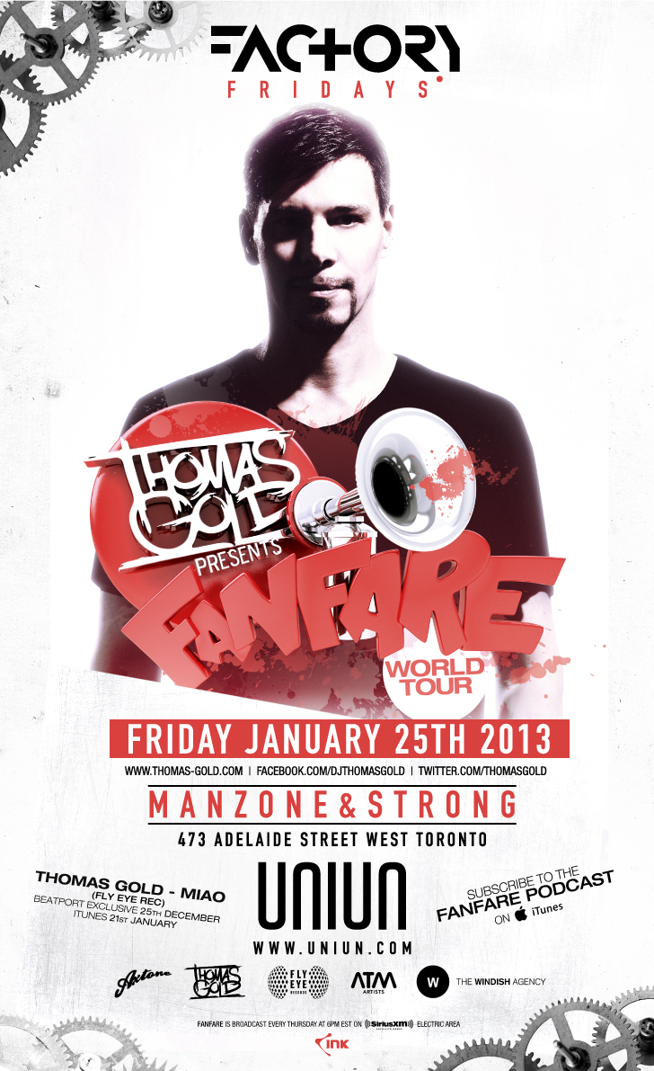 Thomas Gold, Manzone & Strong toronto uniun