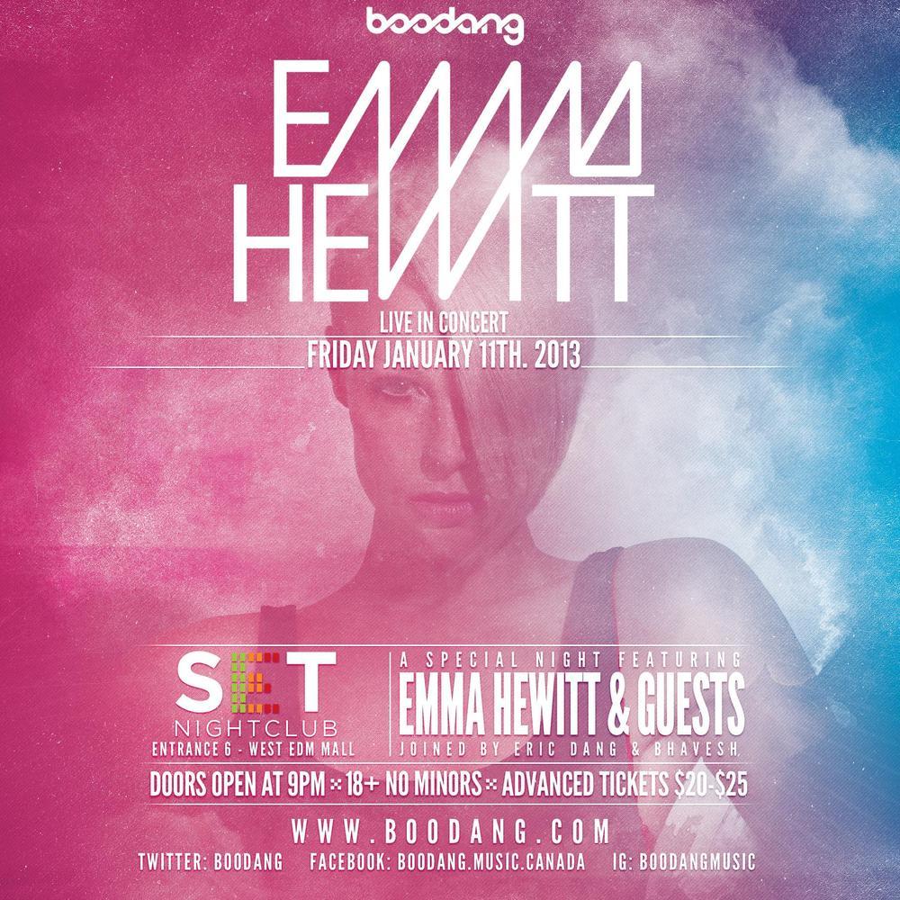Emma Hewitt set edmonton