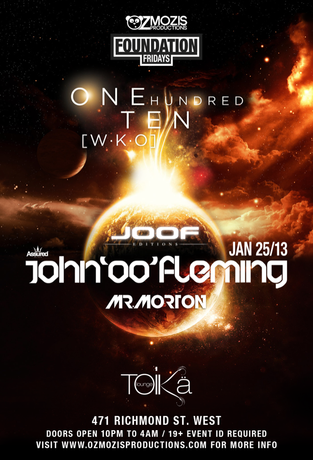John 'OO' Fleming ('One Hundred Ten [W-K-O]' Album Tour Launch), Mr. Morton