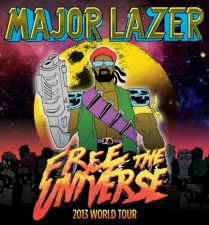Major Lazer, Lunice, Angel Haze toronto