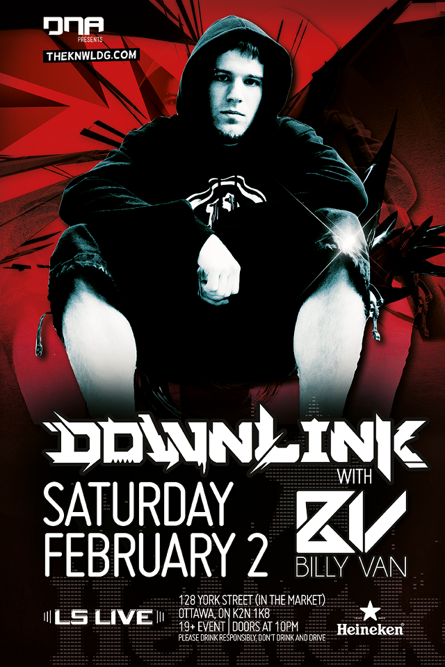 Downlink, Billy Van ls live ottawa