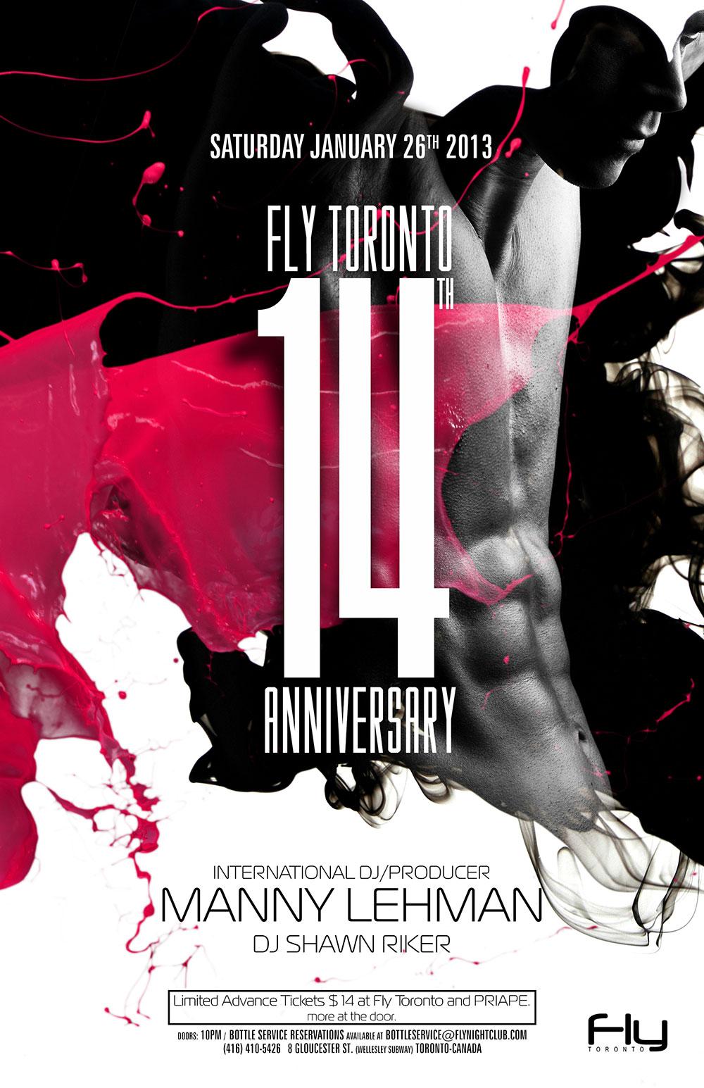 DJ Manny Lehman, DJ Shawn Riker Fly Toronto