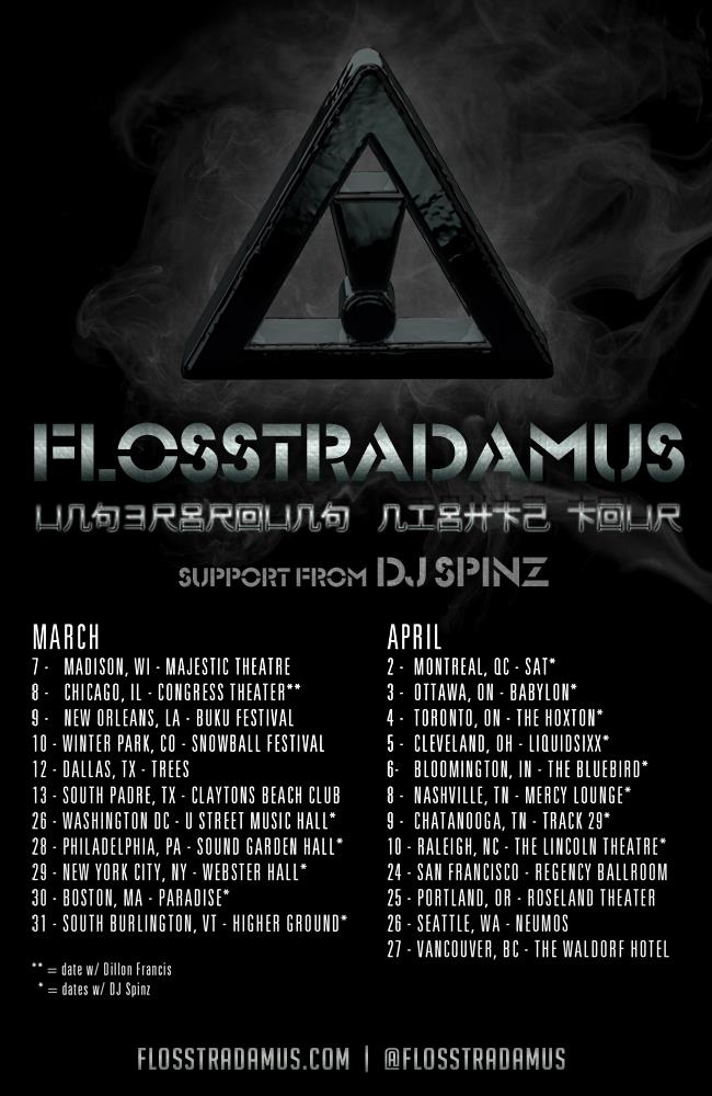 Flosstradamus, DJ Spinz babylon ottawa
