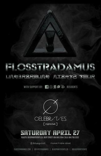 F  losstradamus, DJ Spinz Celebrities Vancouver