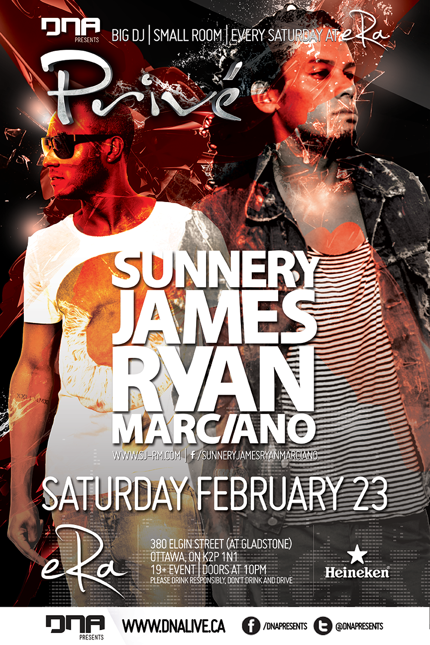 Sunnery James & Ryan Marciano Era Ottawa